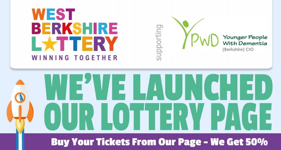 Playing the West Berks Lottery will help YPWD continue to support people with Young Onset Dementia
