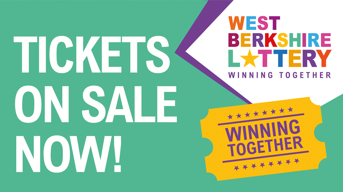 Get your tickets for the new West Berkshire Lottery!